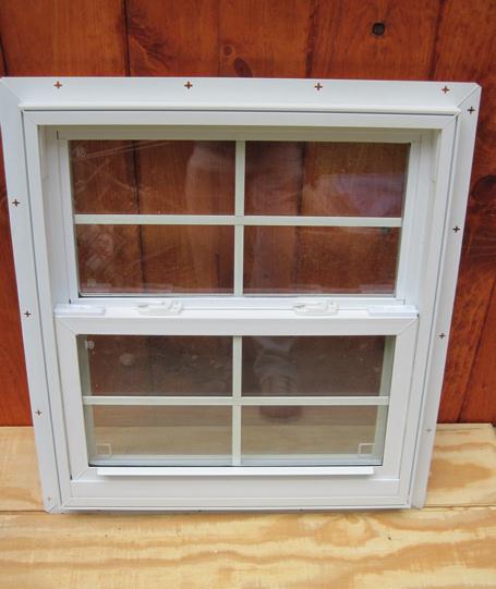 Vinyl windows vinyl shed windows for Vinyl windows