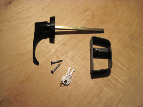 Shed Door Hardware, Door Handle Sets