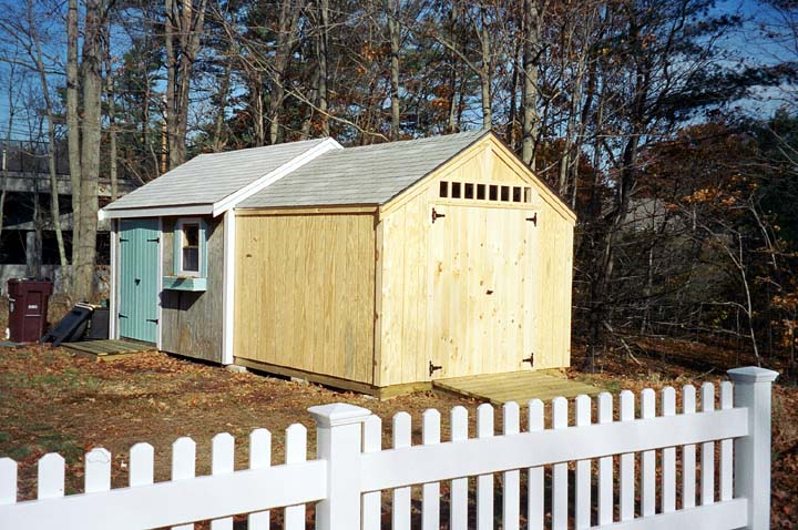 Adding on to a shed pictures to pin on pinterest pinsdaddy Shed addition