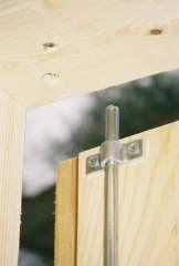 New   2 Point Swivel Shed Or Barn Door Locking Latch System | Bunda .