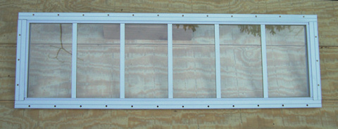Shed Barn And Playhouse Aluminum Transom Windows