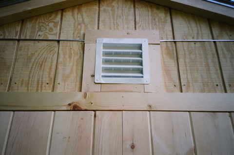 Small shed ventilation mak for Garden shed ventilation