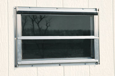 Aluminum Crank Out Windows